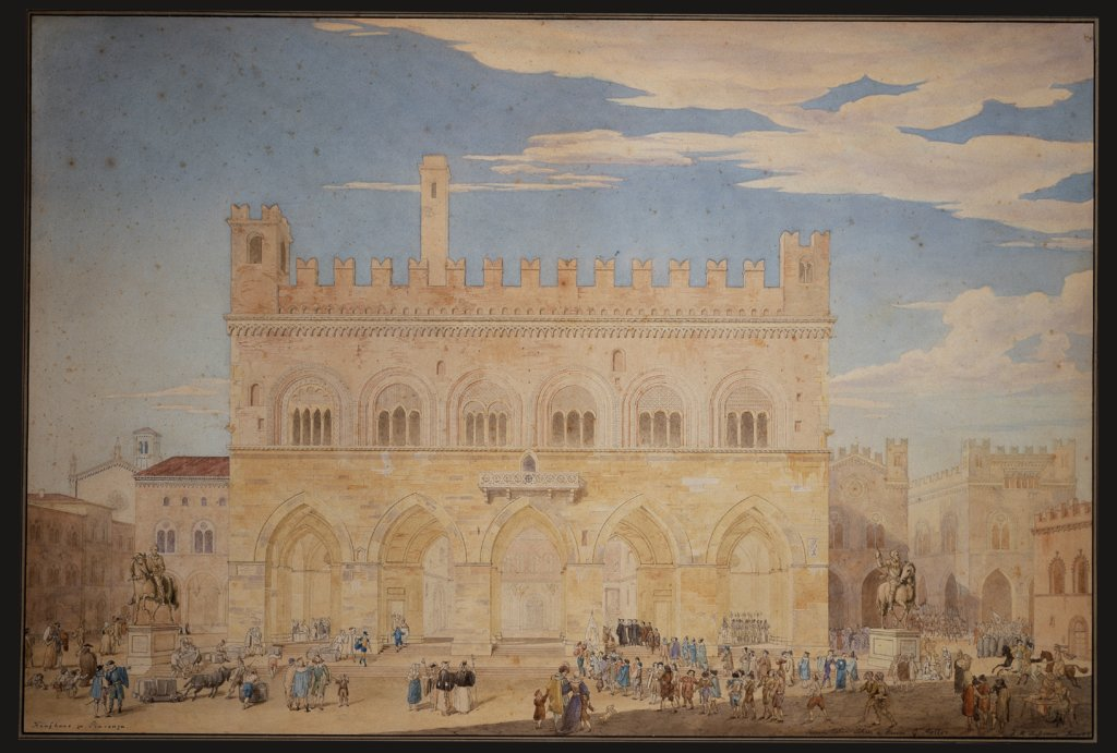 Department store in Piacenza, Friedrich Maximilian Hessemer