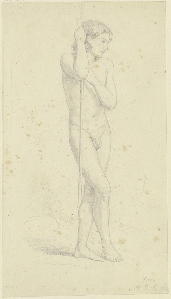 Nude of a boy, Nikolaus Hoff