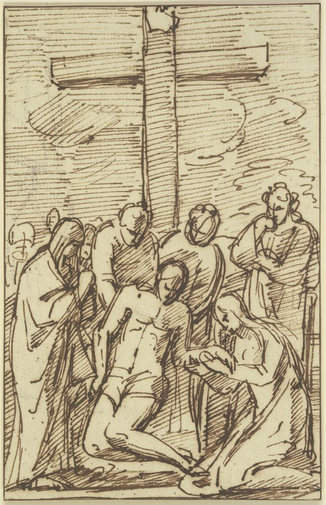 Lamentation of Christ, Vincenzo Tamagni