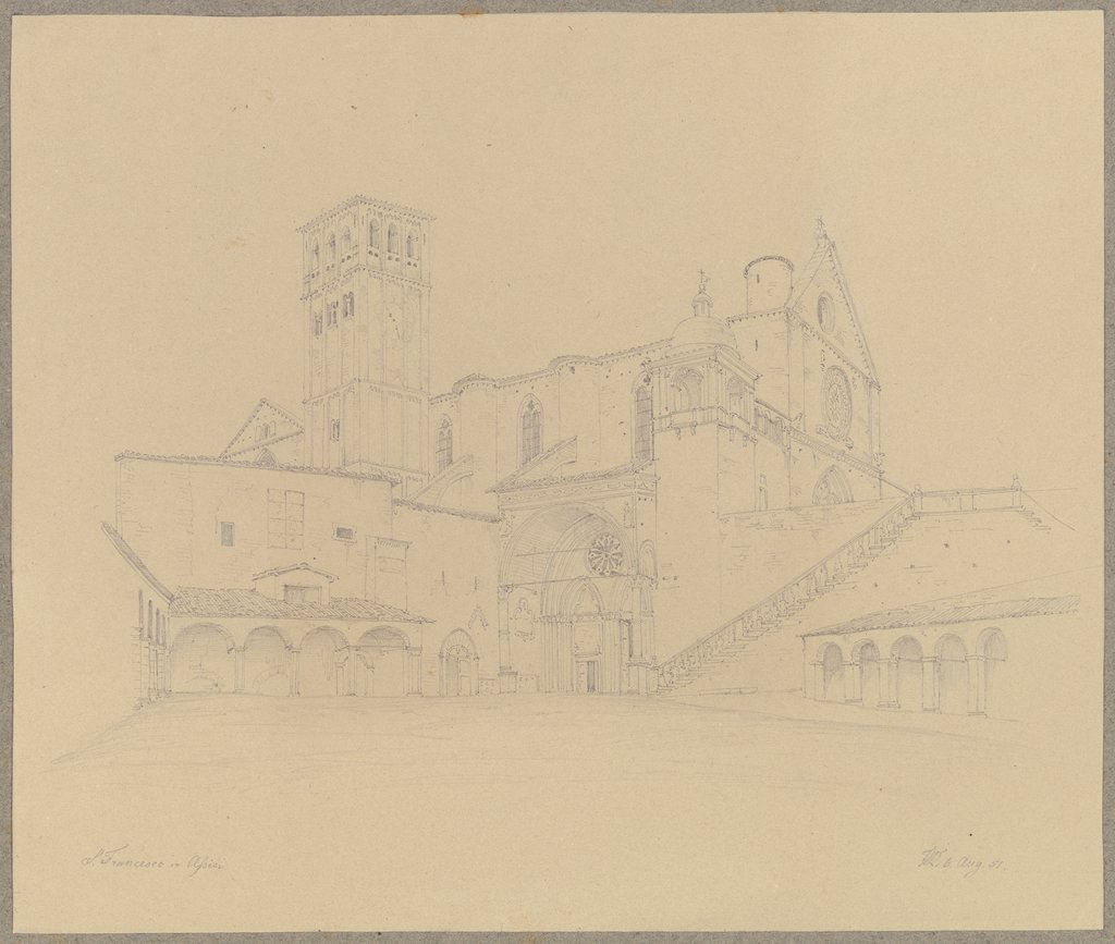 S. Francesco in Assisi, Friedrich Wilhelm Ludwig