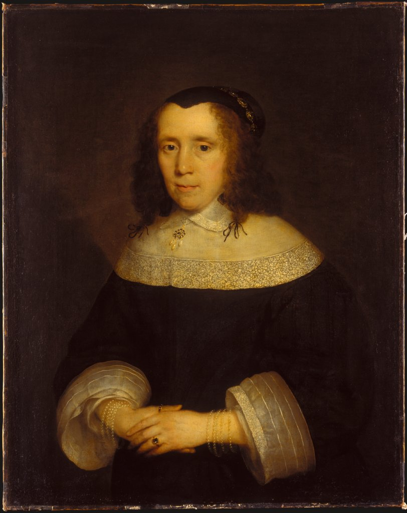 Portrait of a Woman, Cornelius Johnson