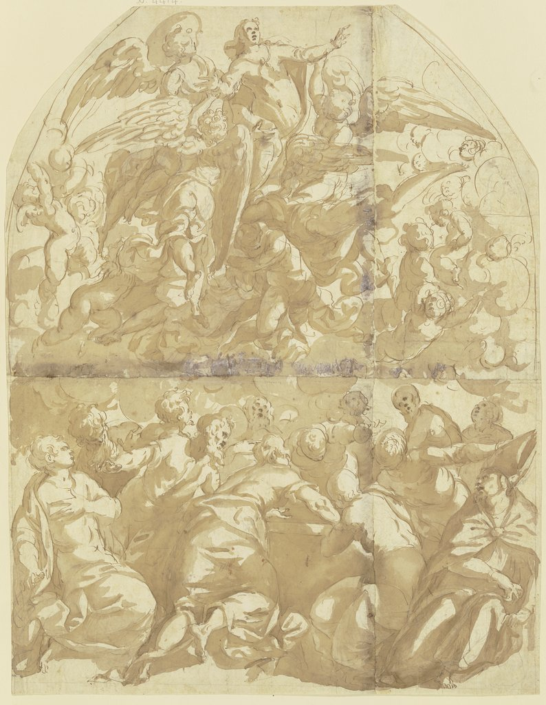 Assumption of Mary, Italian, 16th century, after Tintoretto