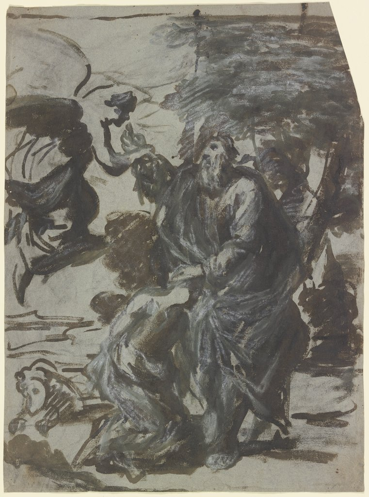Abraham sacrifices Isaac, Tintoretto   ?