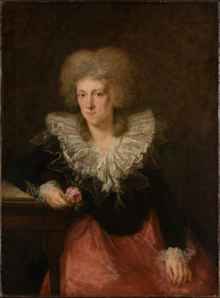 Portrait of a Woman, Johann Georg von Edlinger