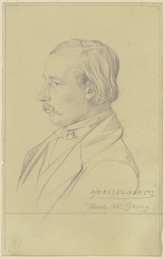 Portrait of Mr Koch, Johann Heinrich Hasselhorst