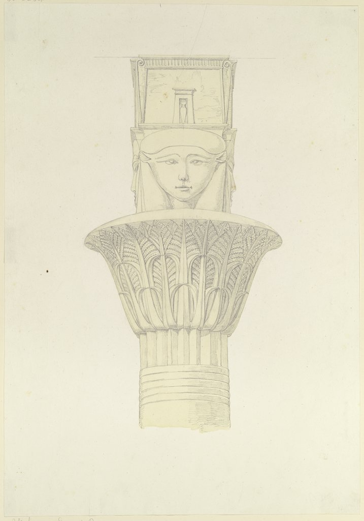 Egyptian capital, Friedrich Maximilian Hessemer