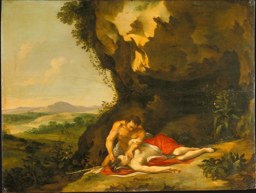 The Death of Procris, Jan Linsen