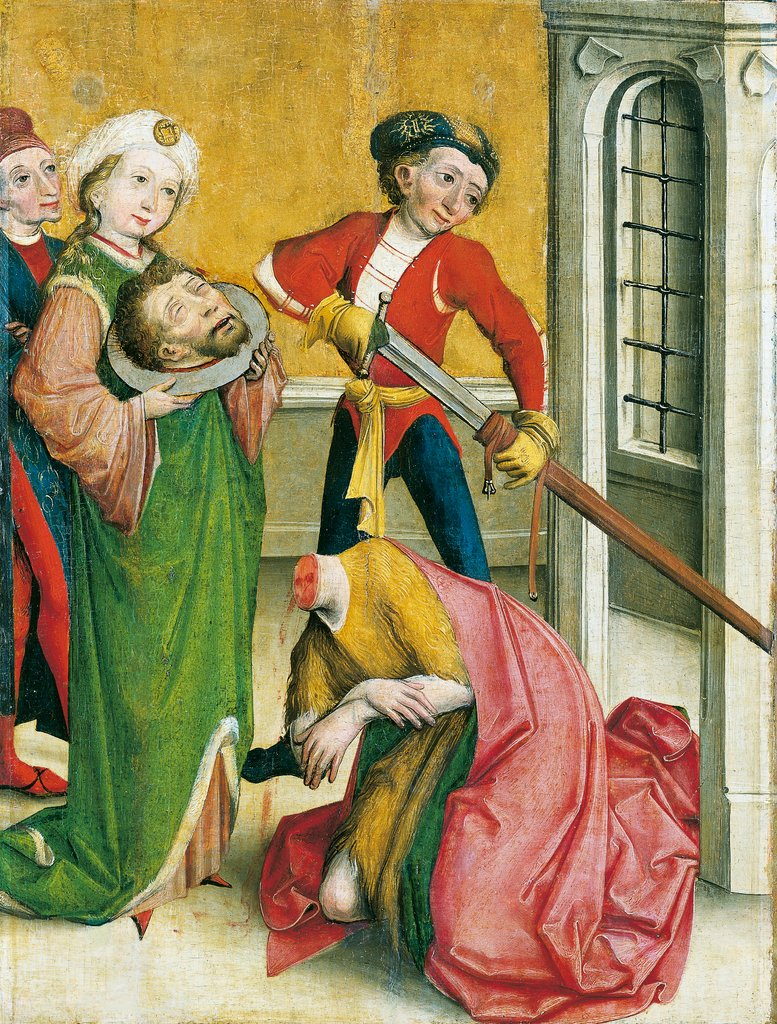 The Decapitation of St John the Baptist, Master of the Eggenburg Altar