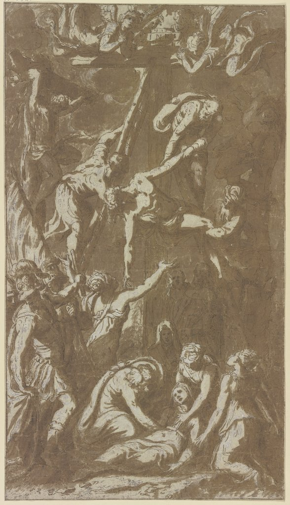 Deposition from the cross, Italian, 16th century