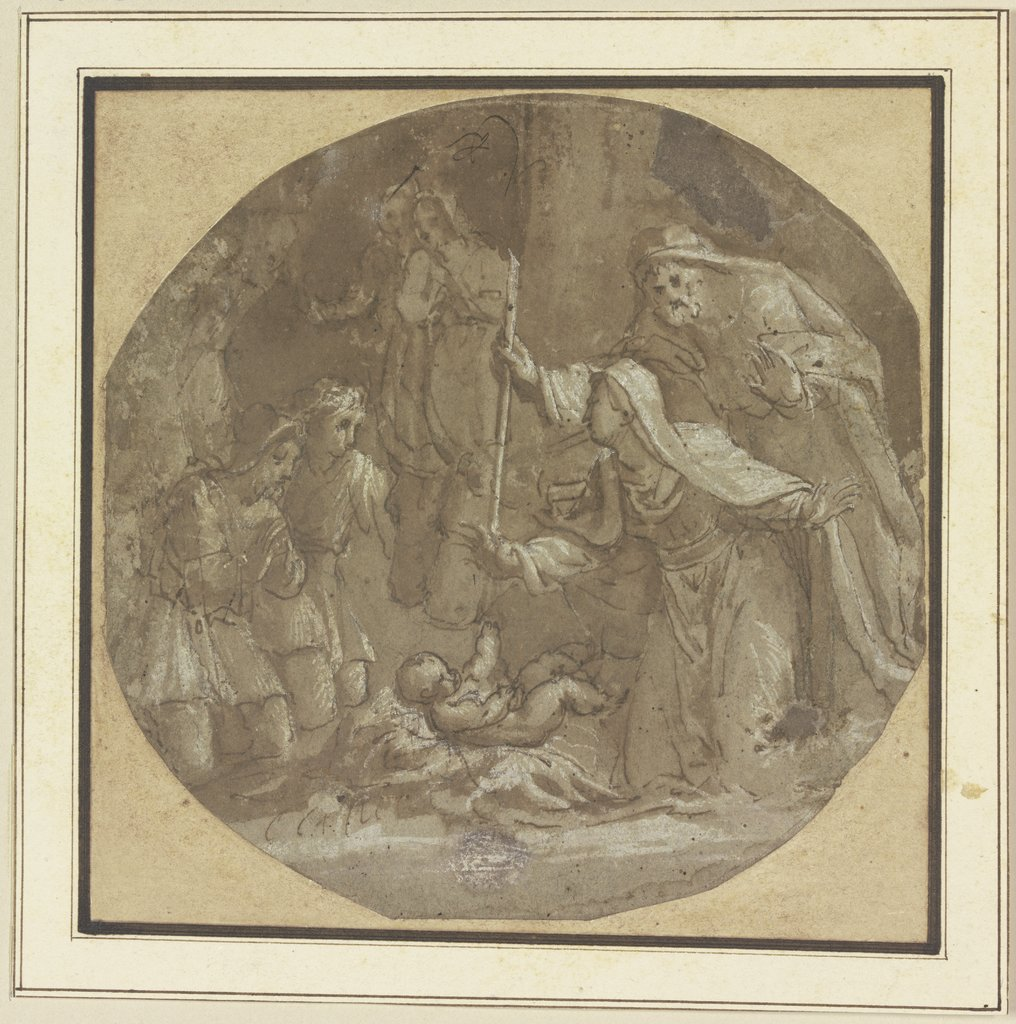 Adoration of the shepherds, Italian, 16th century
