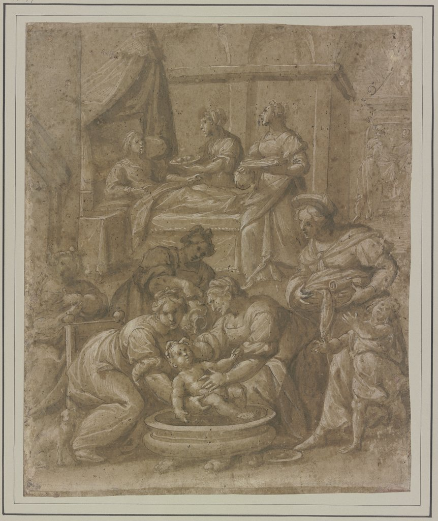 Birth of the Blessed Virgin Mary, Florentine, 16th century   ?