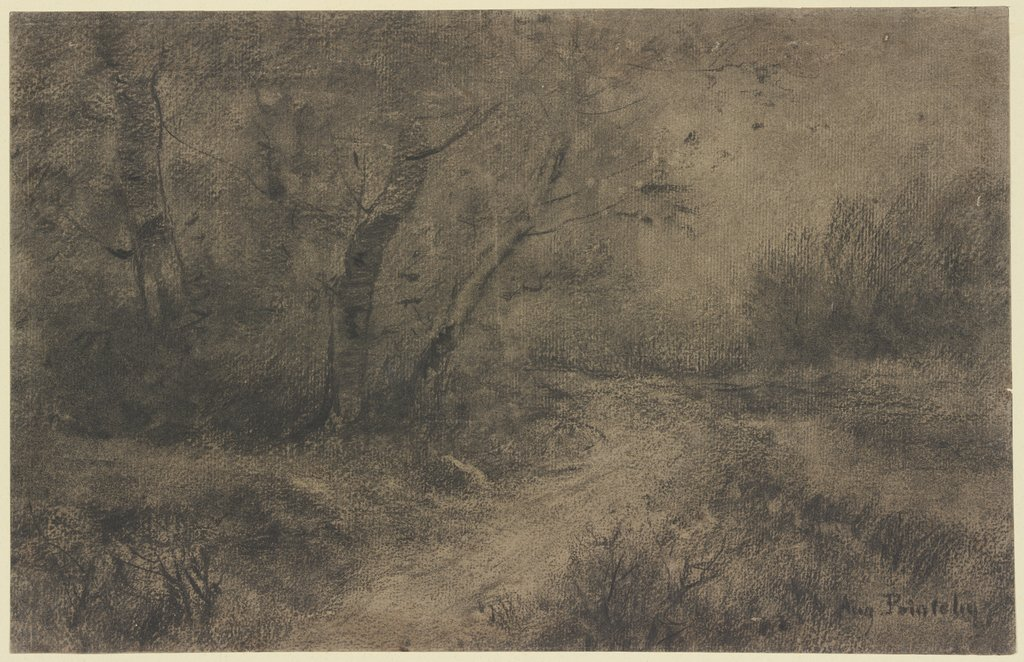 Waldlandschaft, Auguste Pointelin