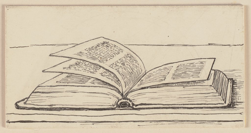 Drawing for the Primer: Book, Hans Thoma