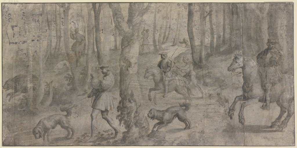 Boar hunt, Titian   ?