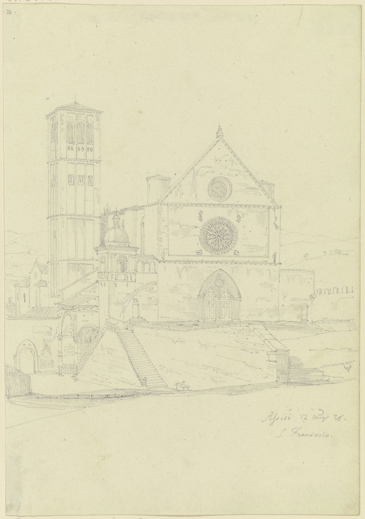 S. Francesco in Assisi, Friedrich Maximilian Hessemer