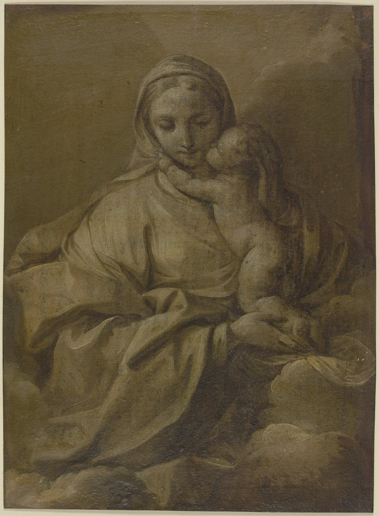 Mary with the child, Guido Reni   ?