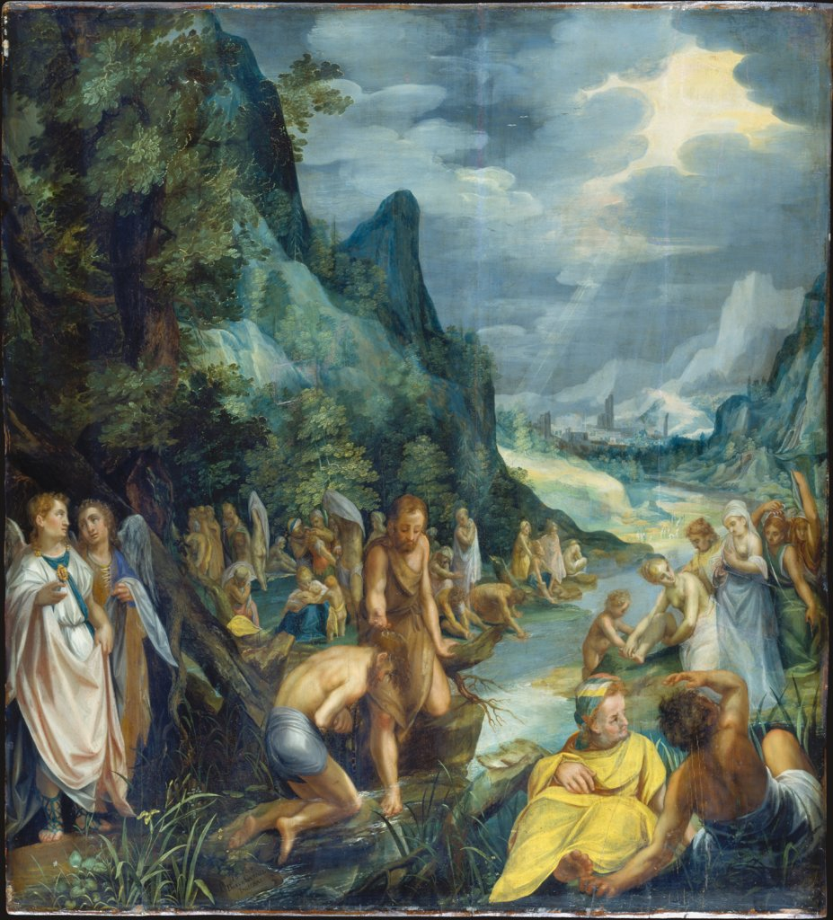 The Baptism of Christ, Paul Juvenel the Elder