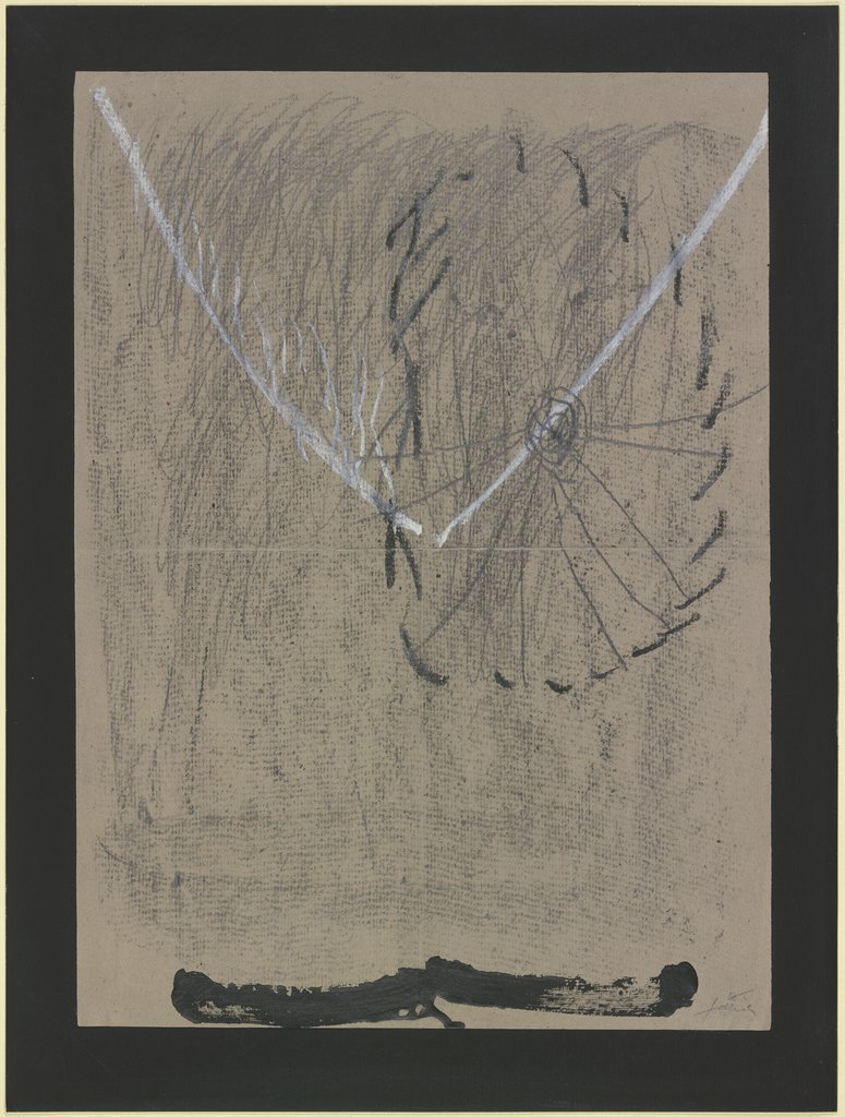 The Scoffer at Diadems No. XV., Antoni Tàpies