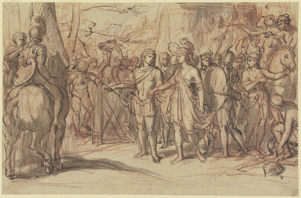 Camp of the Amazons, Italian, 16th century   ?