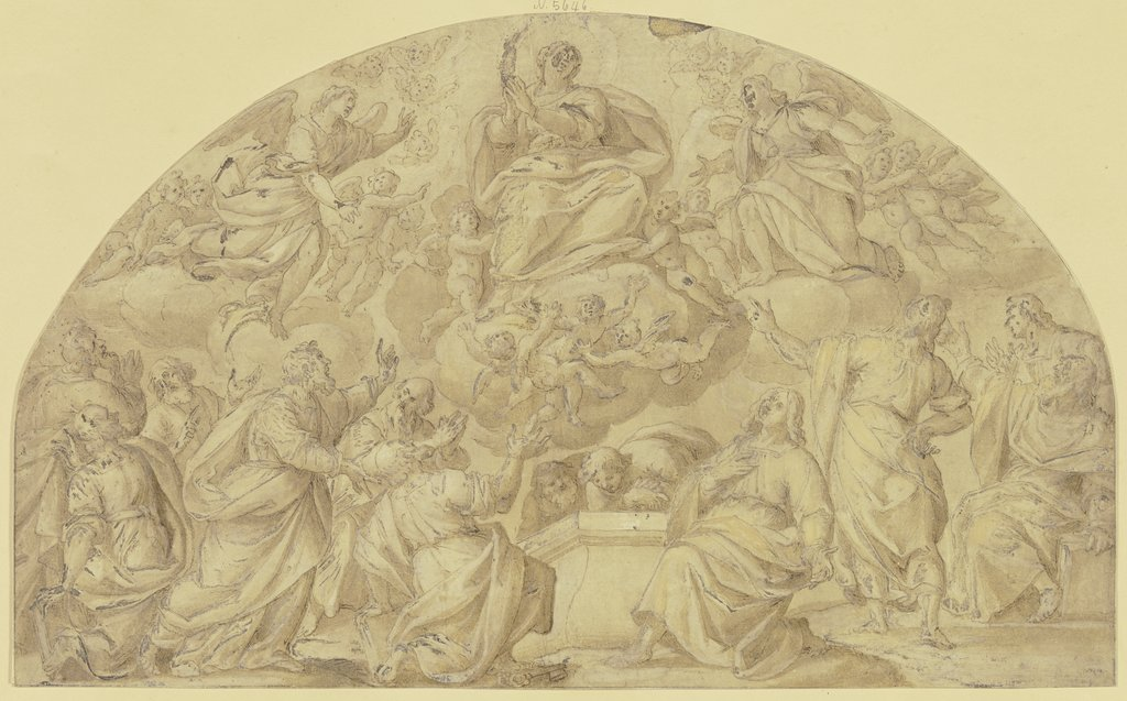 Assumption of Mary, Italian, 16th century