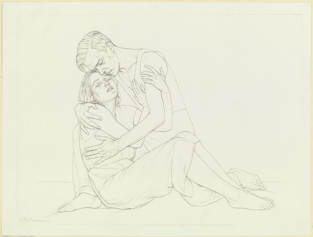 Pair of lovers, Ida Teichmann
