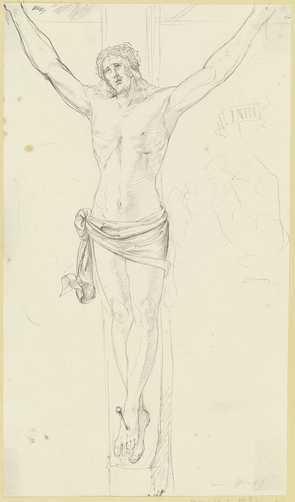 Christ on the cross, Ludwig Thiersch