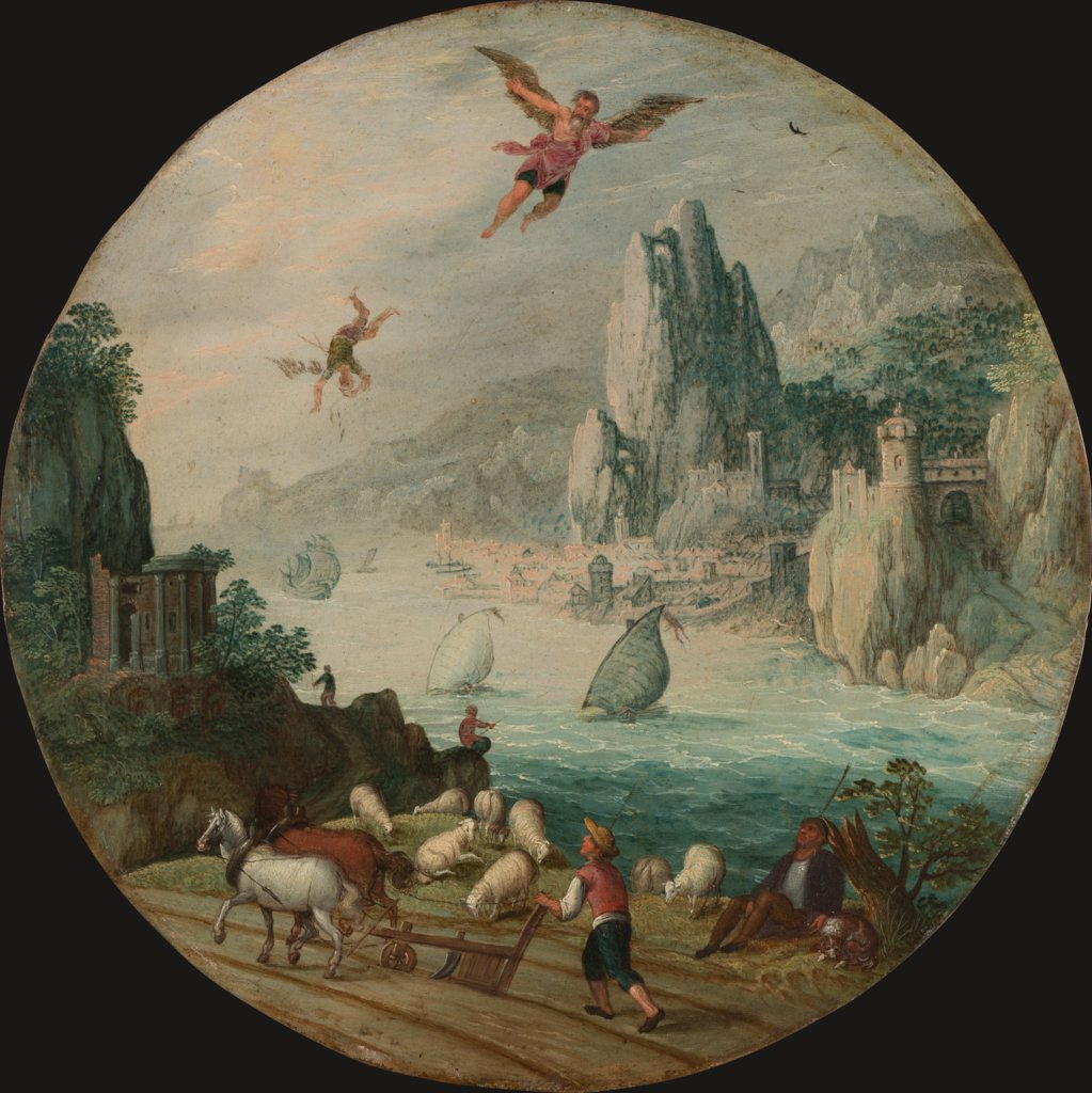 The Fall of Icarus, Tobias Verhaecht