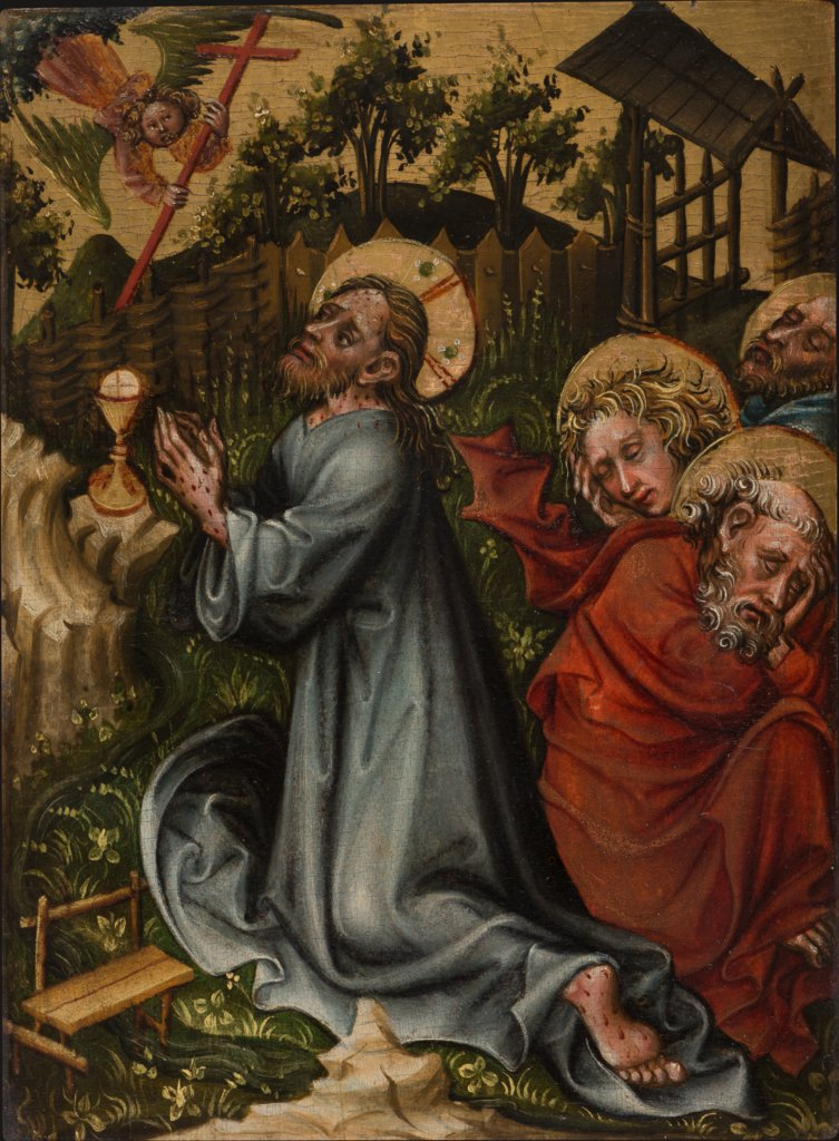 The Agony in the Garden, Master of the Friedrich Altar  Werkstatt