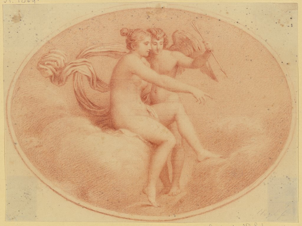 Cupid and Psyche, Friedrich Carl Vogel