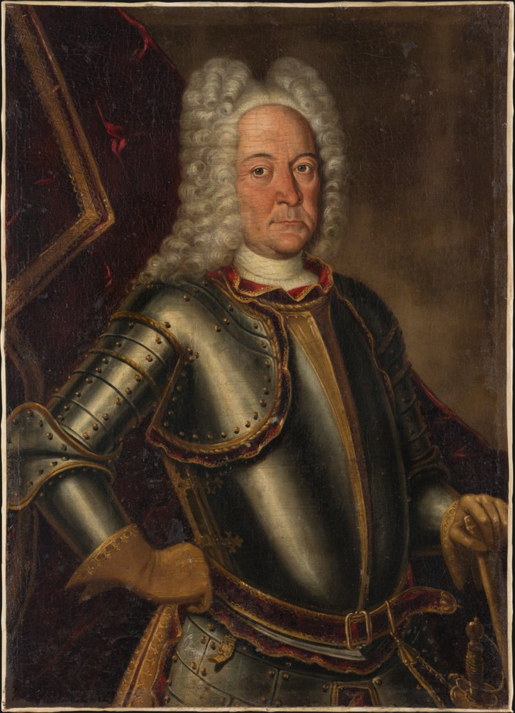 Portrait of Johann Hieronymus zum Jungen, German Master around 1700/1710