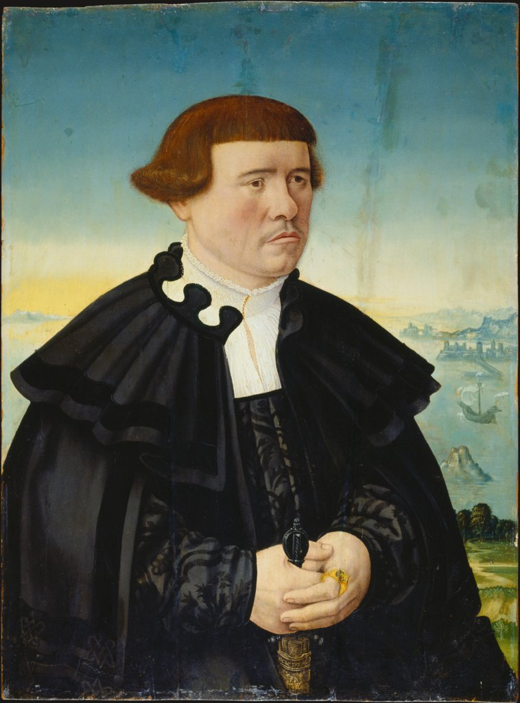 Portrait of a Man from the Stralenberg Family (?), Conrad Faber von Kreuznach