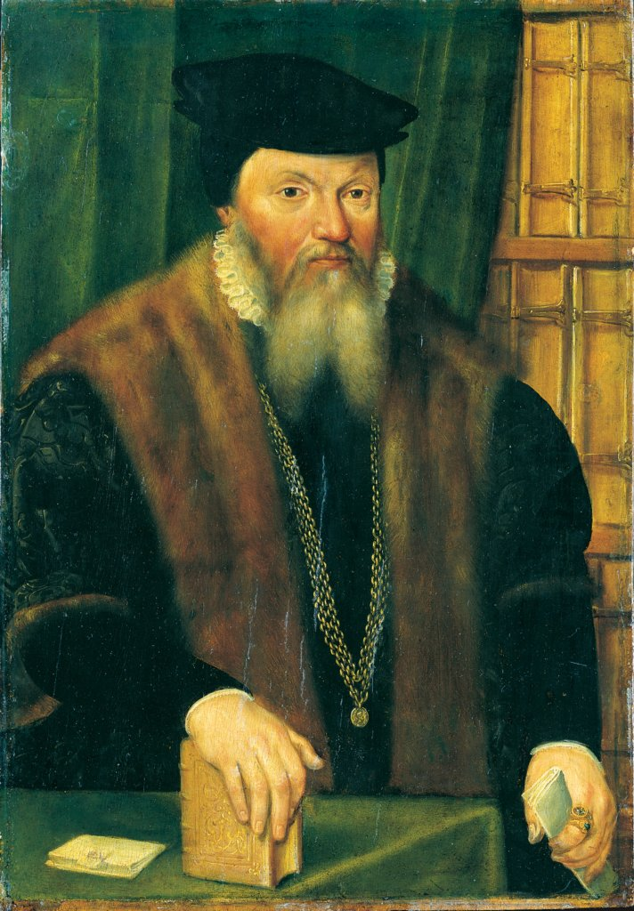 Portrait of Johann von Fichard, Middle-Rhenish Master of the Second Half of the 16. Jahrhunderts