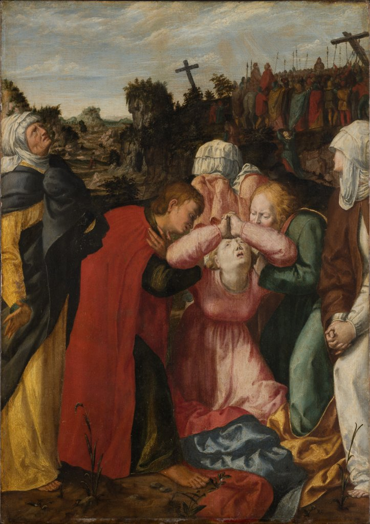 The Virgin Mary and Mourners at the Cruzifixion, Philipp Uffenbach