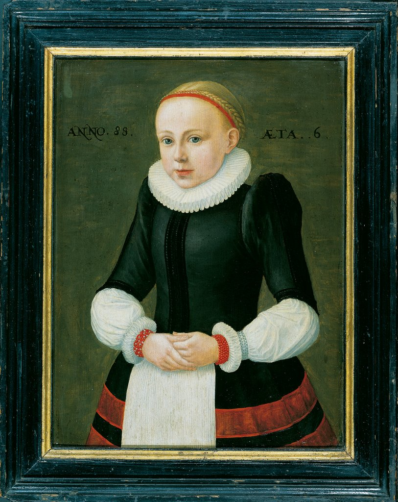 Portrait of Susanna Völker, Middle-Rhenish Master of 1588