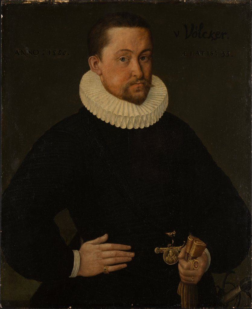 Portrait of Johann Philipp Völker, Middle-Rhenish Master of 1588