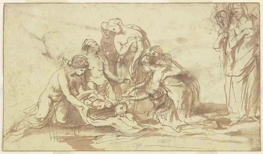 Die Auffindung des Moses, Peter Paul Rubens