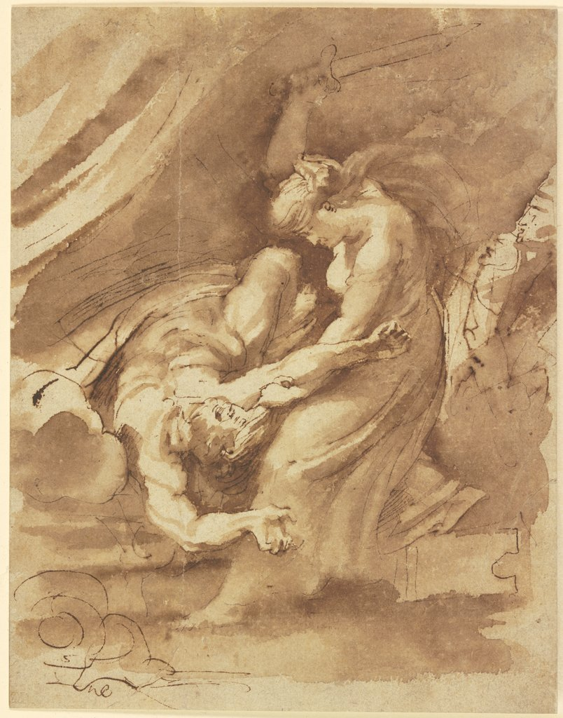 Judith enthauptet Holofernes, Peter Paul Rubens