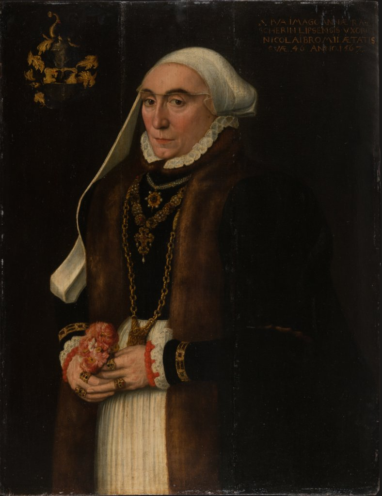 Portrait of Anna Rauscher, Middle-Rhenish Master of 1567