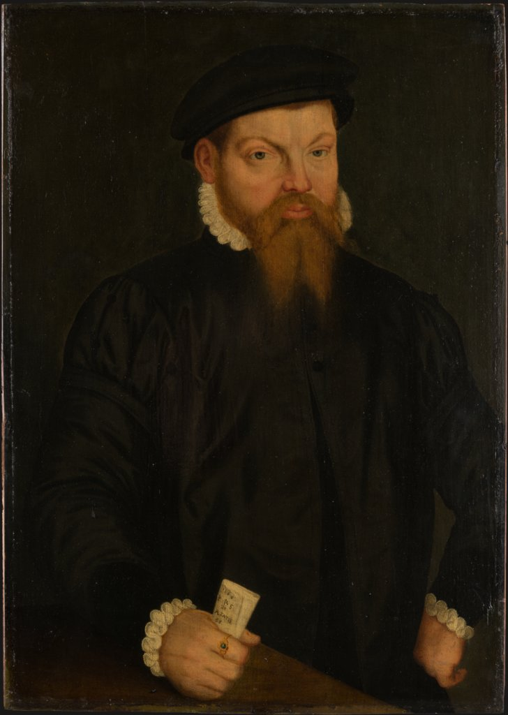 Portrait of a Man, West-German Master of 1566