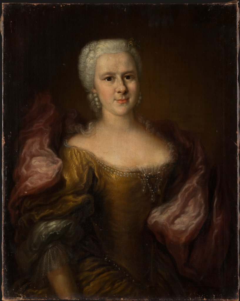 Portrait of Eleonore Ernestine von Ponikau, née von Holzhausen, German Master around 1740/1750