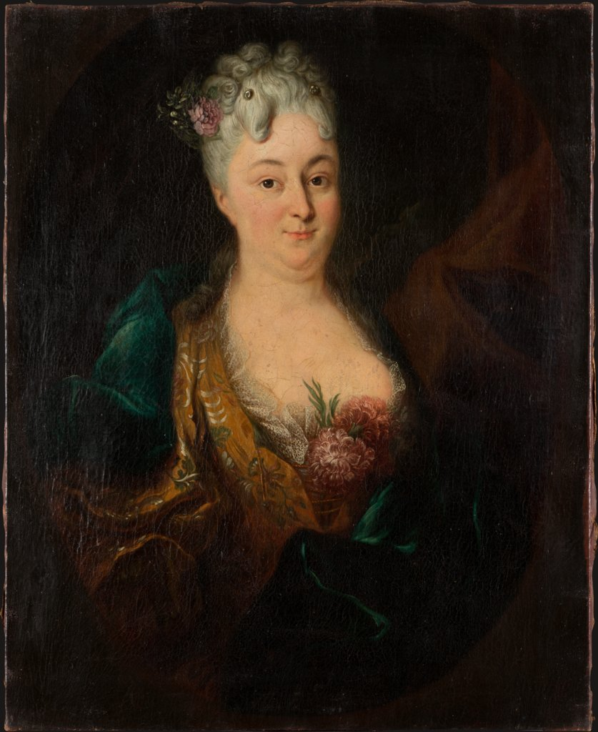 Portrait of Margarethe Elisabeth von Lersner, German Master of the First Third of the 18th Century