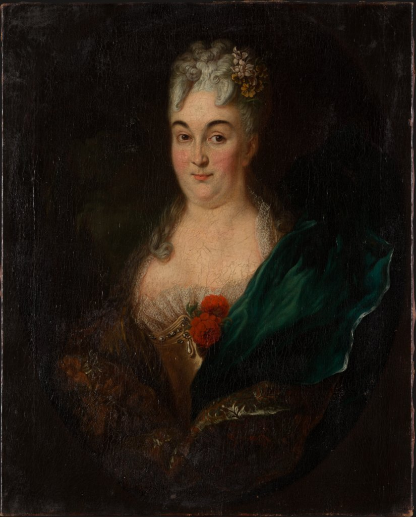Portrait of Maria Justina von Lersner, German Master of the First Third of the 18th Century