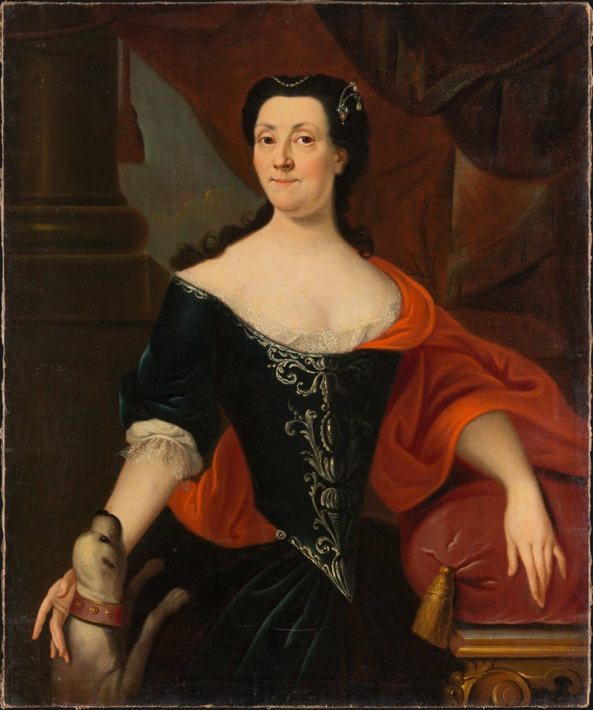 Portrait of Sophia Magdalena von Holzhausen, née von Günderrode, German Master of the First Quater of the 18th Century