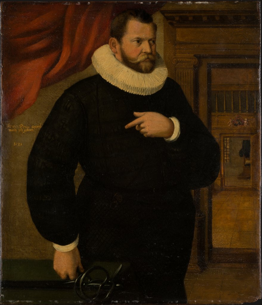 Portrait of Johann von Mardorff, German (Franconian?) Master of 1589