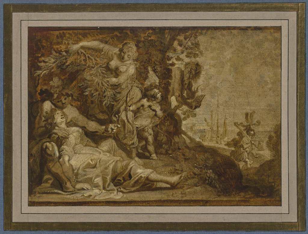 Aeneas leaves Dido, Anthonis Sallaert
