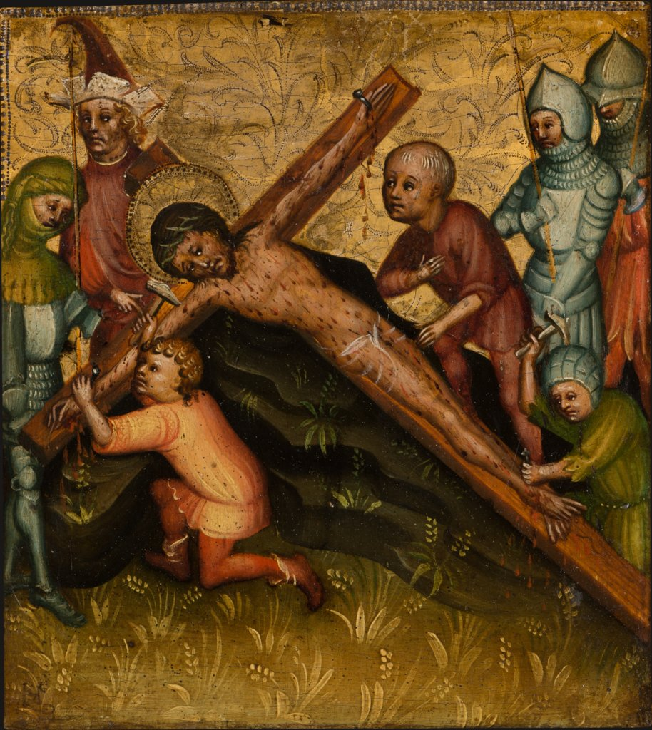Christ Being Nailed to the Cross, Master of the Passion Panels