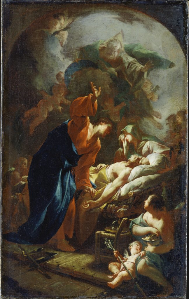 The Death of Joseph, Paul Troger