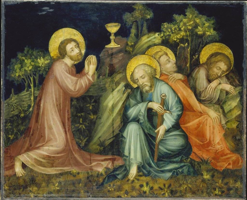 The Agony in the Garden, Nuremberg Master of the Altarpiece of the Virgin