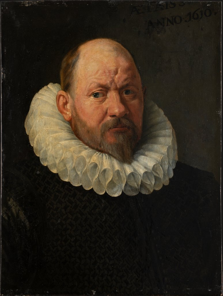 Portrait of a Man (Fragment), Flemish Master around 1610/1620