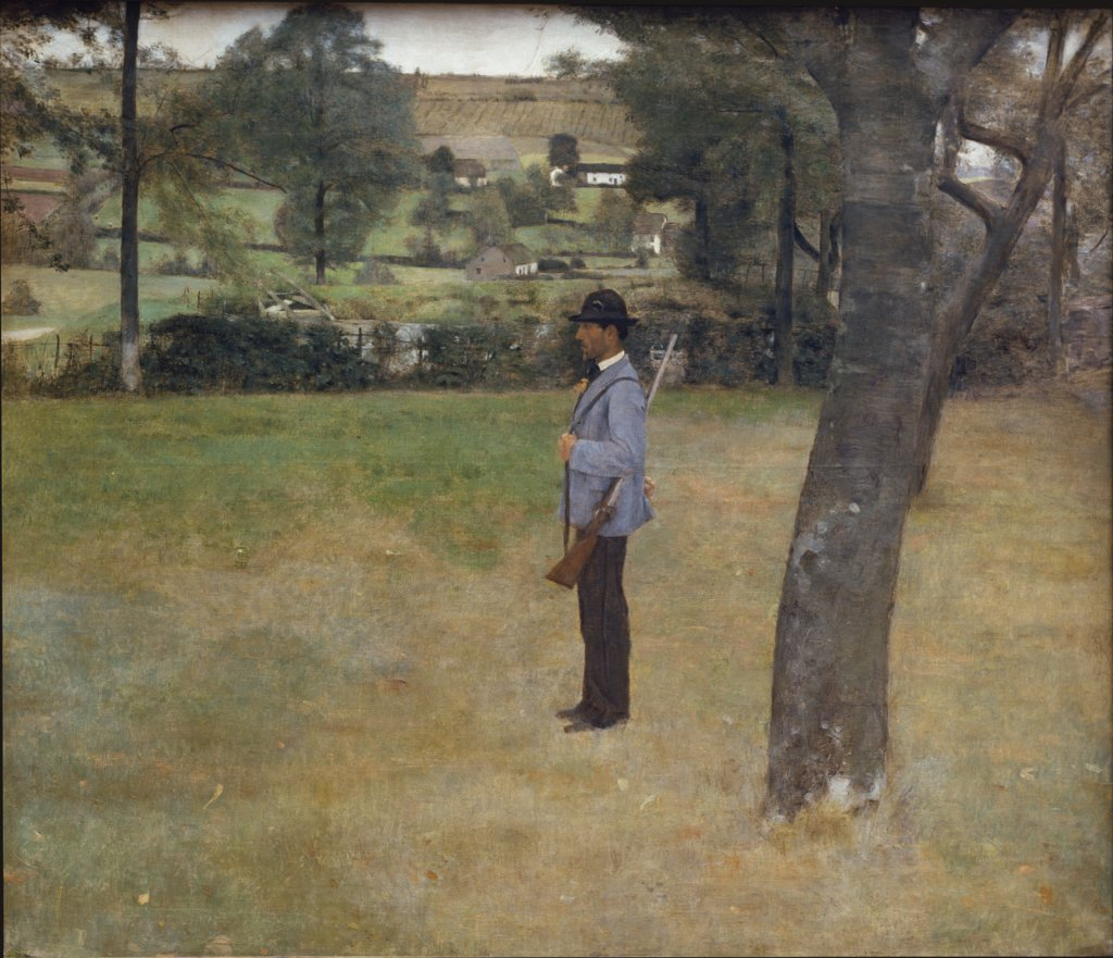 The Game Warden, Fernand Khnopff